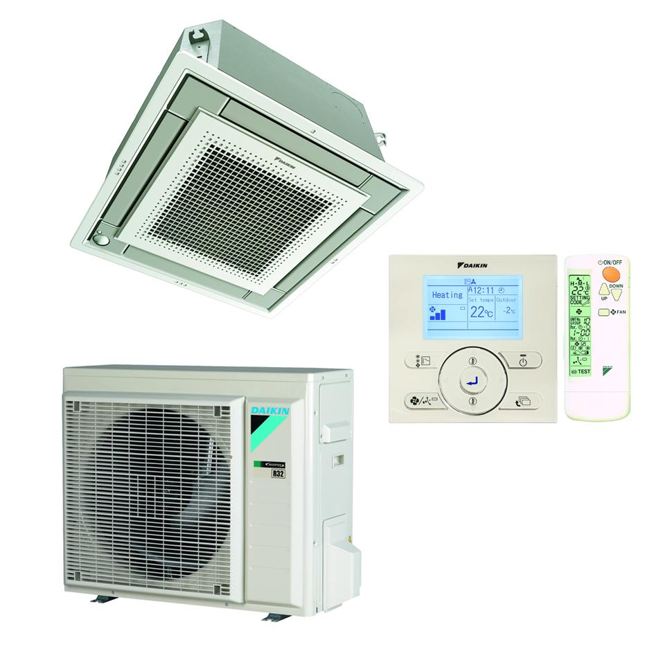 Split Inverter kasetiniai oro kondicionieriai Compact FFA-A9/RXM-N9