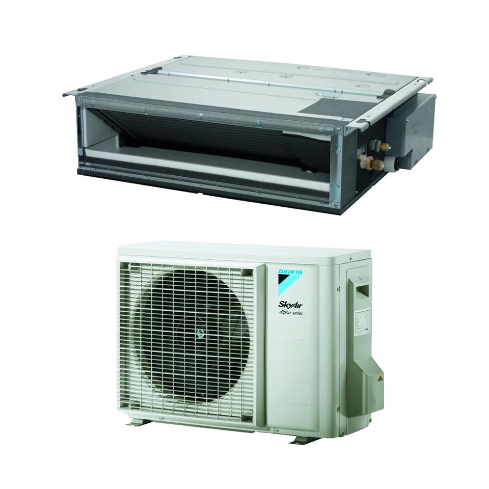 Ortakiniai oro kondicionieriai iki 40PA Daikin FDXM-F9/RZAG-A