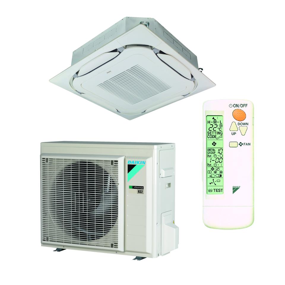 Kasetiniai oro kondicionieriai Daikin ROUND-FLOW FCAG-B/RXM-N9