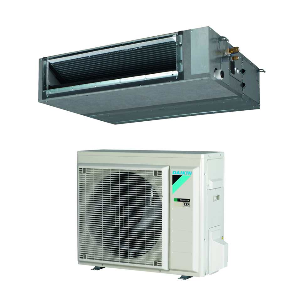 Ortakiniai oro kondicionieriai iki 150PA Daikin FBA-A9/RXM-N9