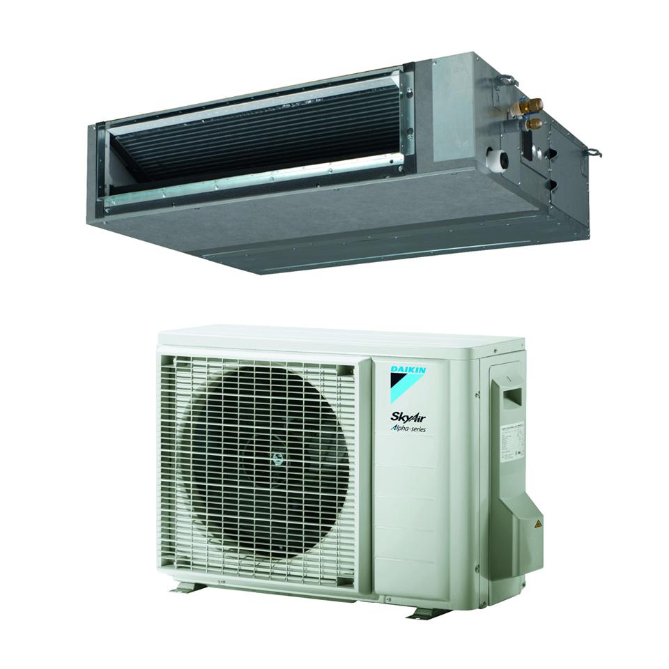 Ortakiniai oro kondicionieriai iki 150PA Daikin FBA-A9/RZAG-A