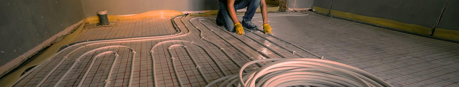 Grindinis šildymas | Grindinio šildymo įrengimas  Elektra arba vandeniu šildomų grindų montavimas