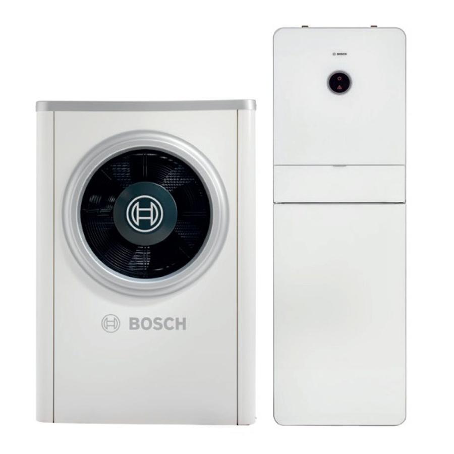 Bosch oras-vanduo šilumos siurblys Compress 7000i CS7000iAW 13 / AWM 17