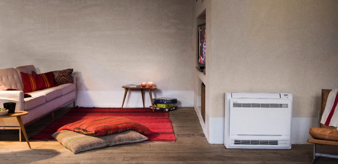 grindinis oro kondicionierius / oras oras šilumos siurblys