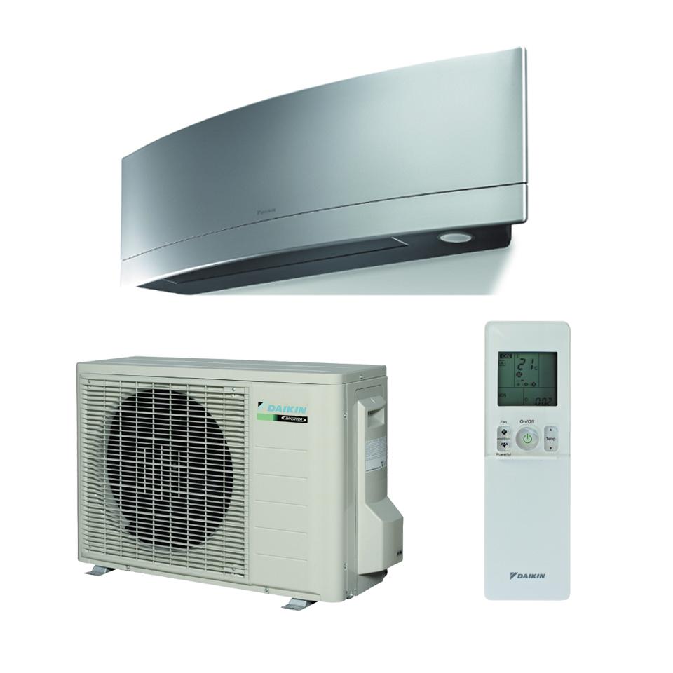 Split Inverter sieninis oro kondicionierius Daikin Emura