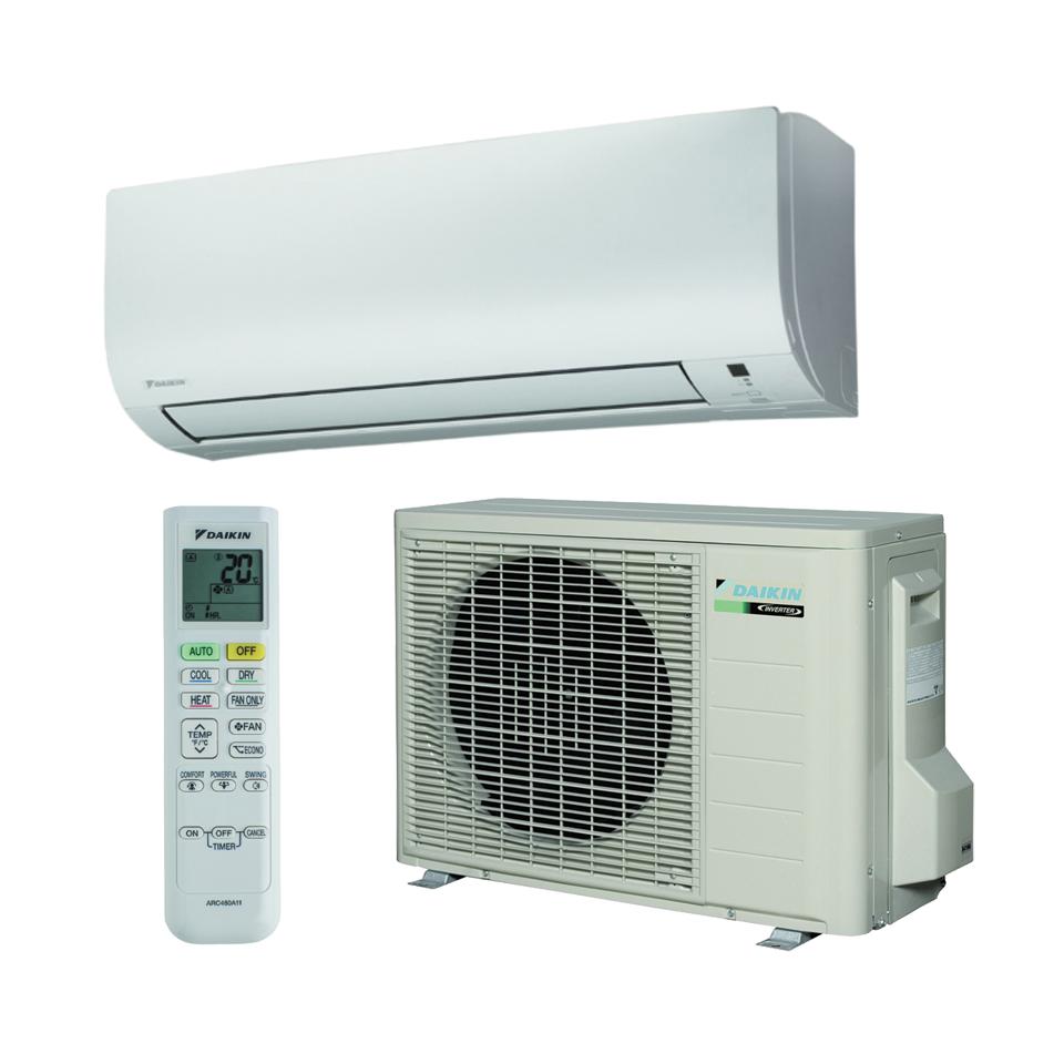 Sieniniai oro kondicionieriai Daikin Comfora