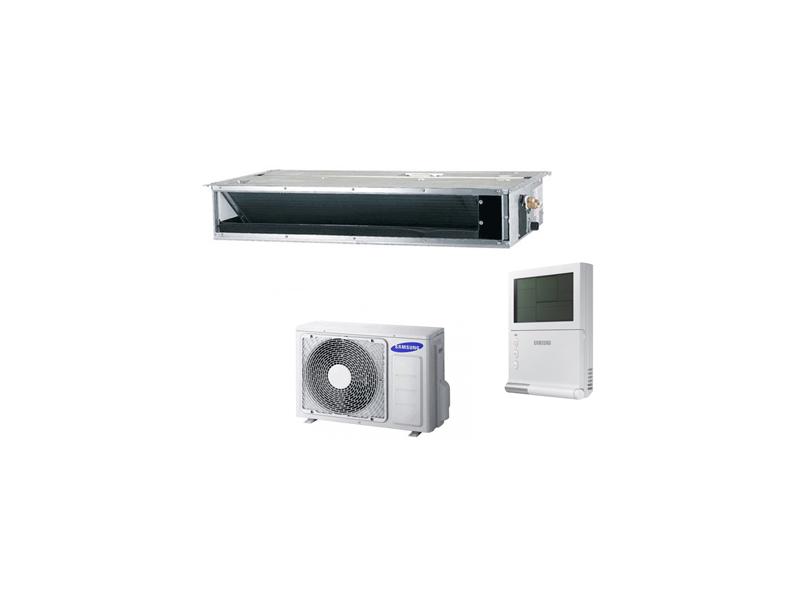 MSP kanaliniai oro kondicionieriai Samsung S Deluxe  Kanalinių oro kondicionierių Samsung S Deluxe serija, pasižyminti efektyviu vėsinimu ir šildymu. Lauko temperatūros diapazonas vėsinant nuo -15 iki 50°C, šildant nuo -20 iki 24°C.  Ši serija apima 8 kanalinius oro kondicionierius su nominalia vėsinimo galia nuo 3.5 iki 14 kW bei nominalia šildymo galia nuo 4 iki 16 kW.