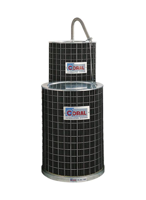 Patroniniai pjuvenų siurblių filtrai Coral FIL 450/1000