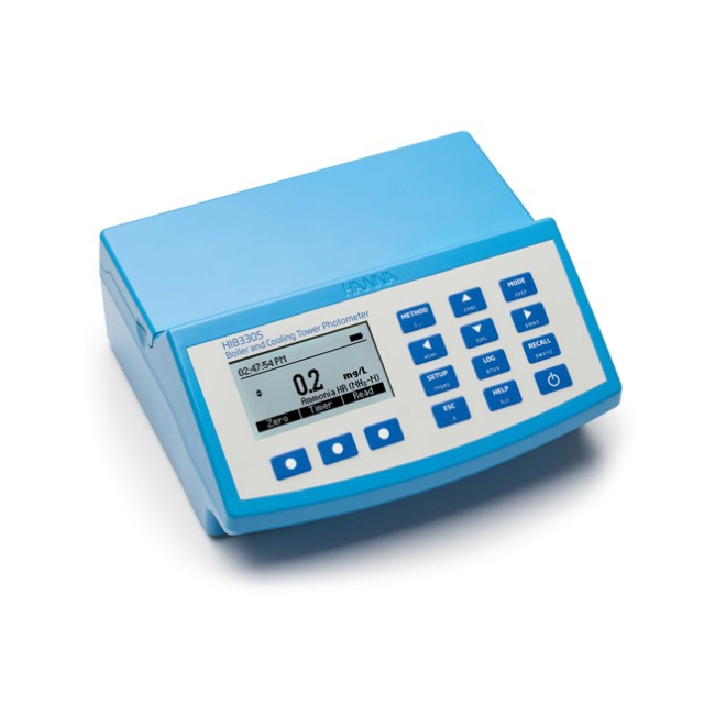 Multifunkcinis fotometras ir pH matuoklis skirtas vandens kokybei tirti HANNA HI-83305-02