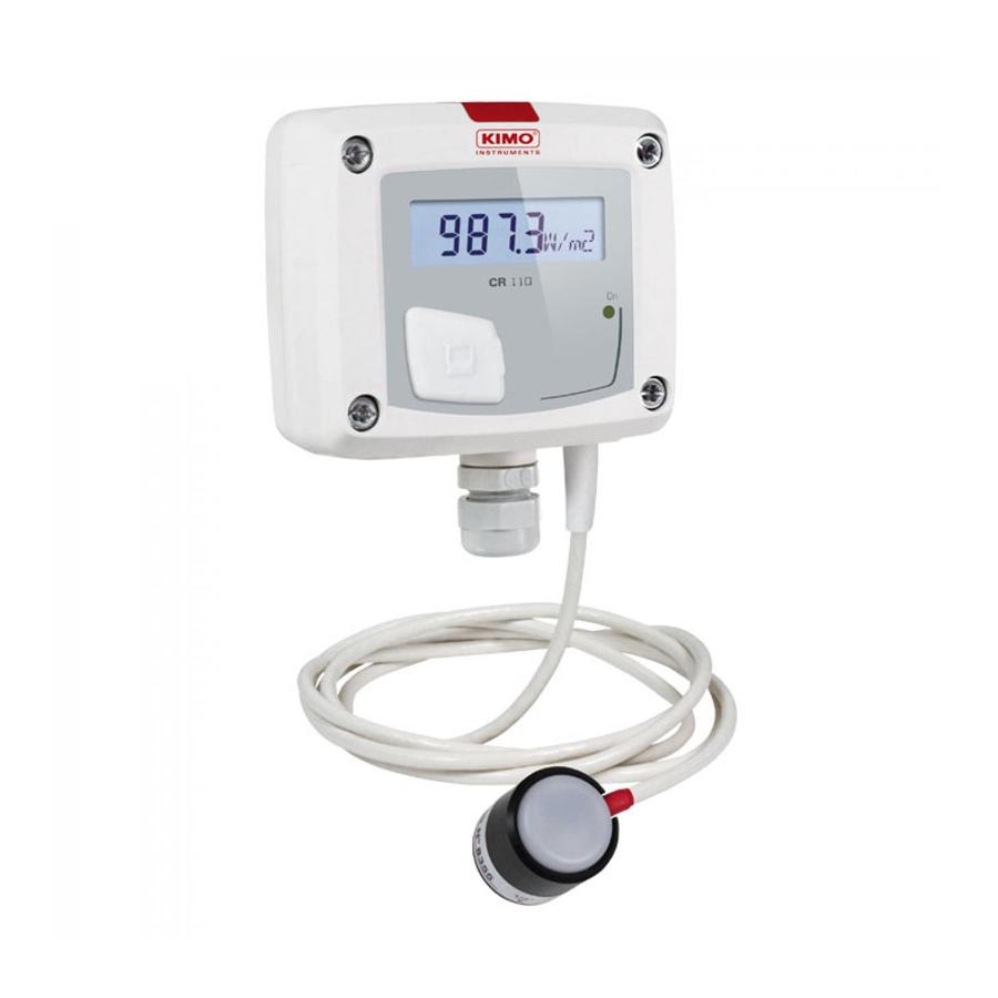 Saulės radiacijos matuoklis / siųstuvas KIMO CR 110