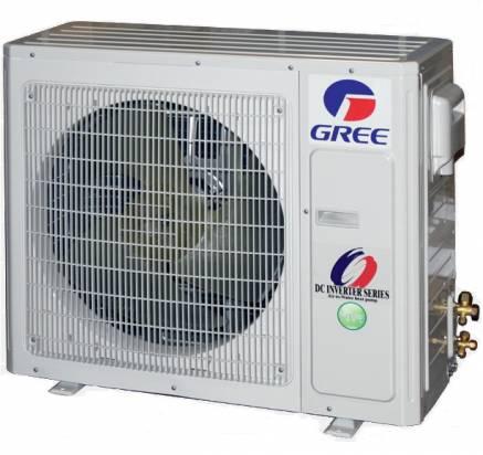 Išorinė šilumos siurblio oras/vanduo dalis Gree Versati II+, 8,6/8,2 kW