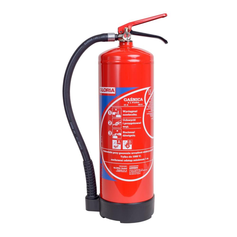 Vandens putų gesintuvas GLO-SD-6 6L