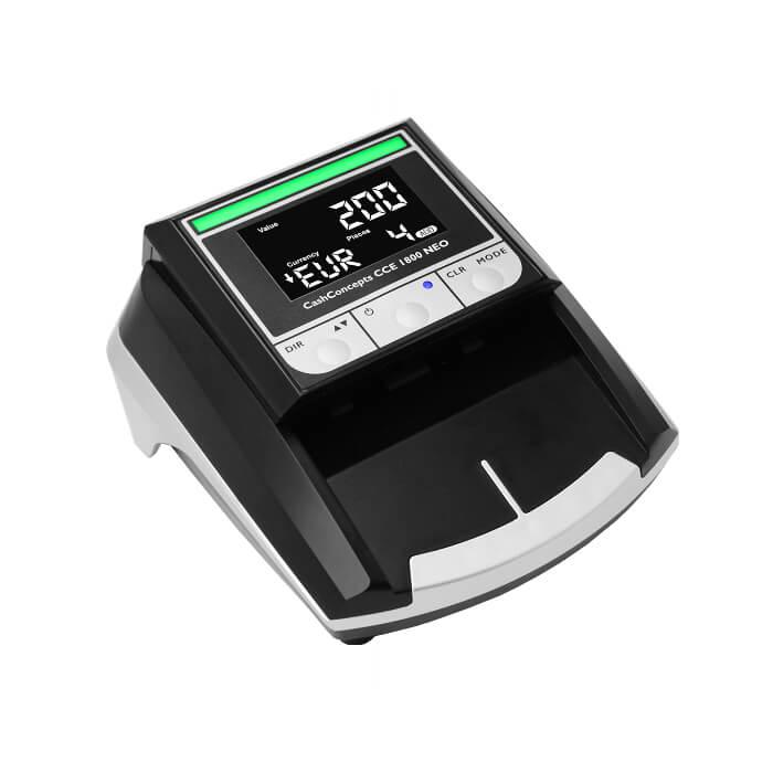 Banknotų tikrinimo aparato CCE 1800 NEO nuoma
