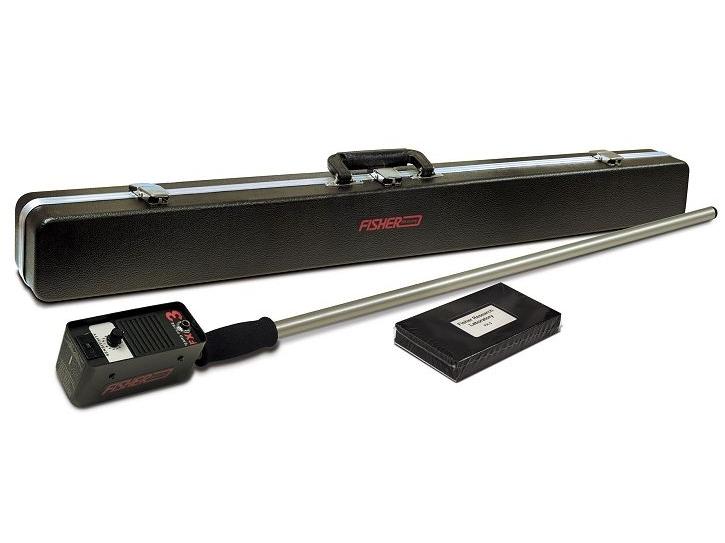 Spalvotojų metalų detektorius Fisher FX3