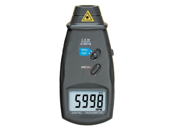 Skaitmeninis tachometras DT-6234B