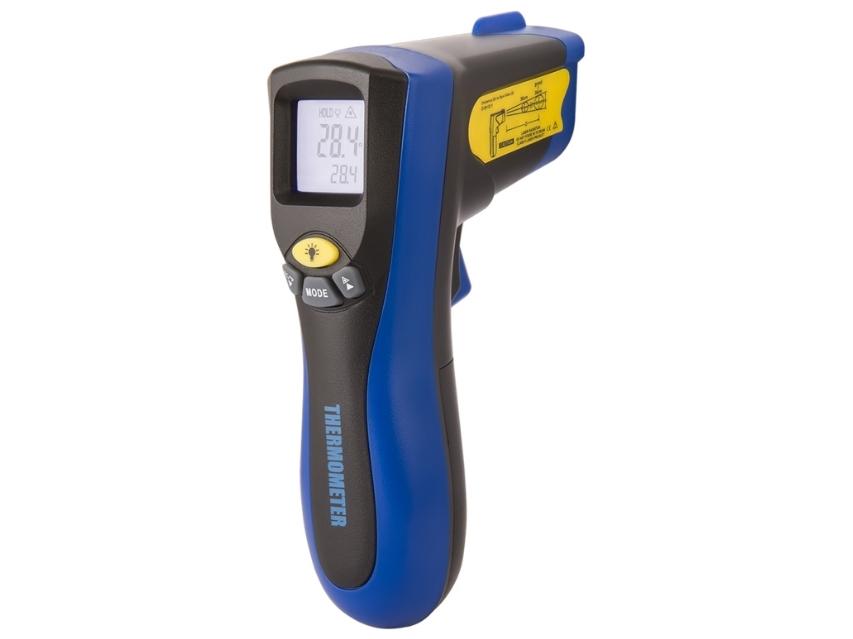 Infraraudonųjų spindulių termometras - pirometras CH8550