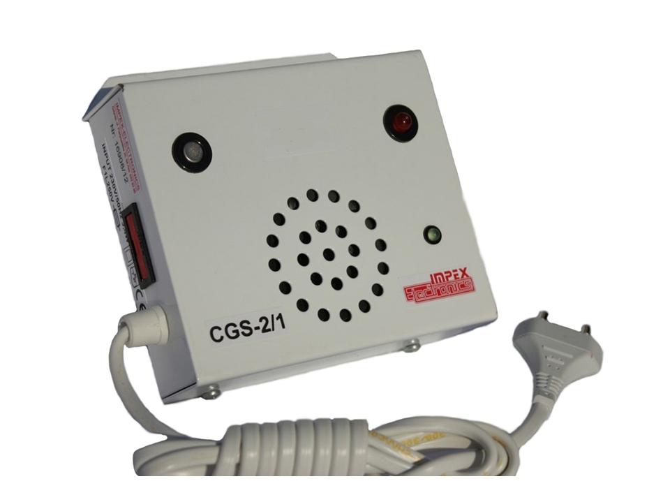 Metano dujų detektorius CGS-2/1 1P metan 230V