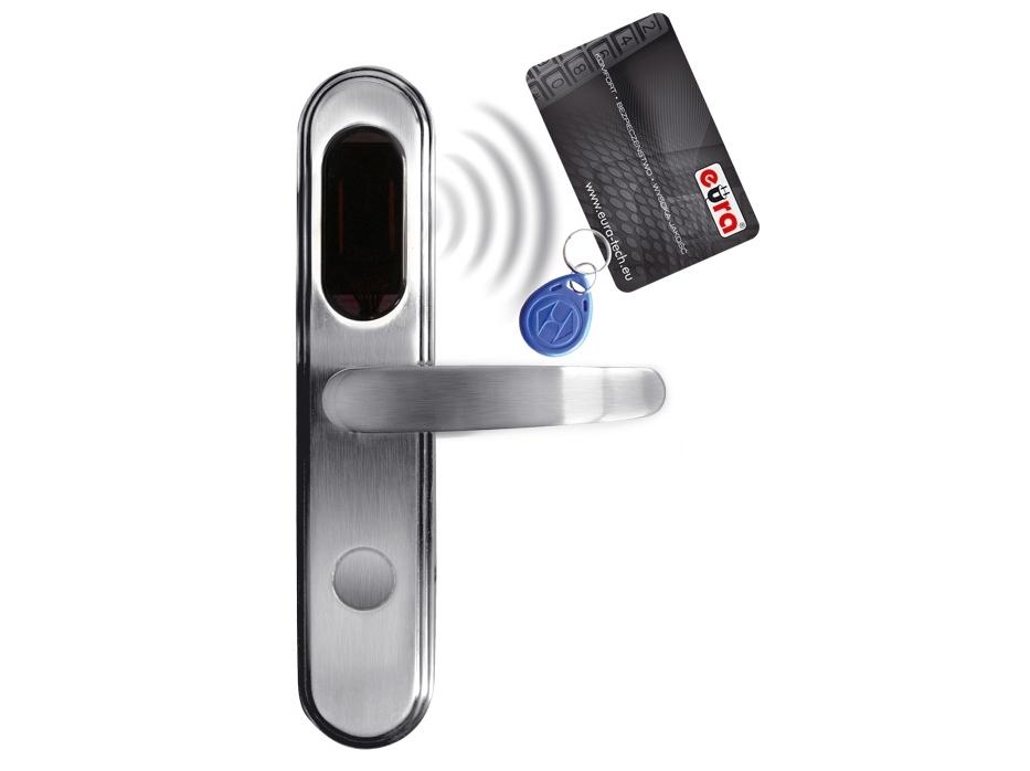 Elektromechaninė durų spyna su RF ID skaitytuvu ELH-20B9/silver (valdymo dalis)