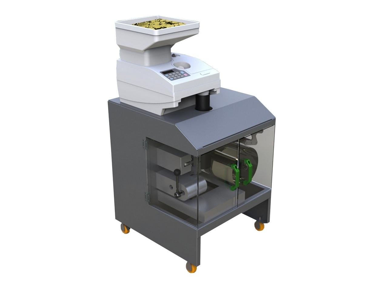 Monetų pakavimo aparatas CCE 860