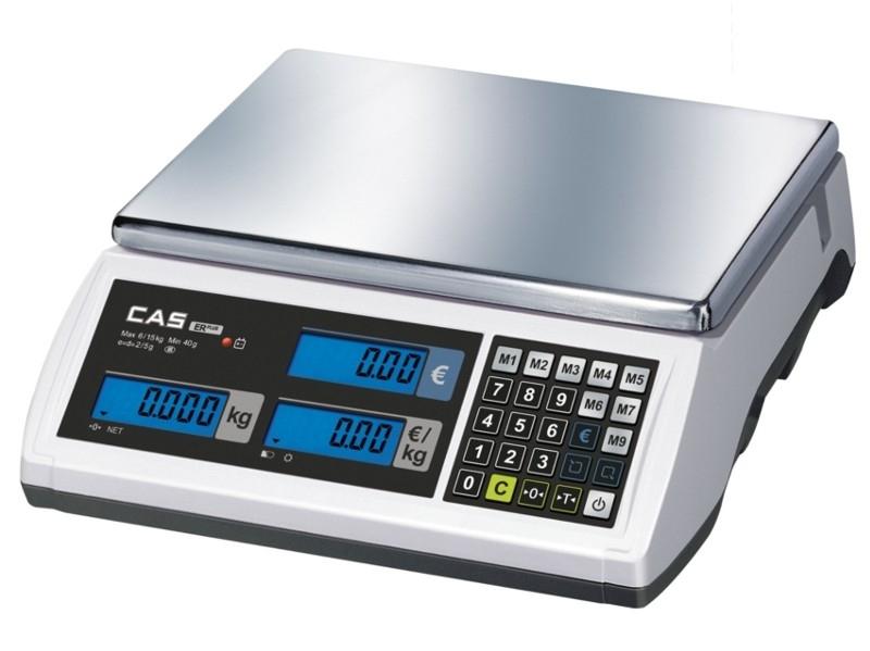 Elektroninės svarstyklės ER PLUS -C 15 kg