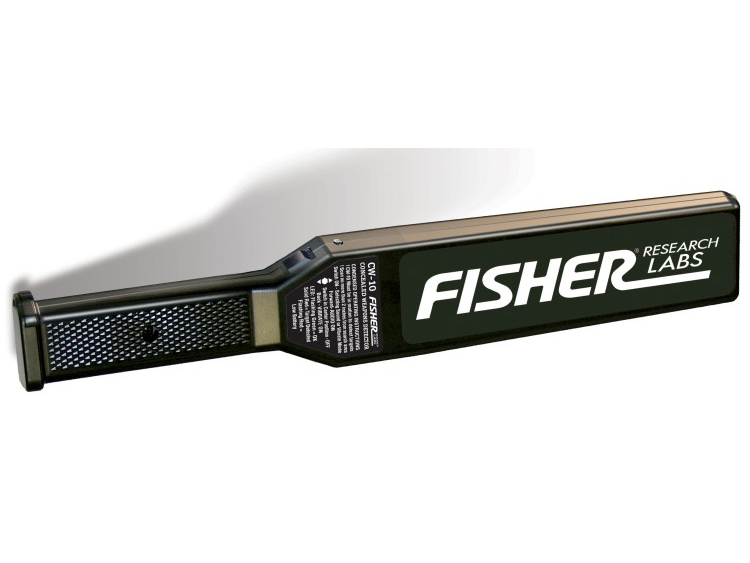 Rankinis apsaugos metalo detektorius Fisher CW-10