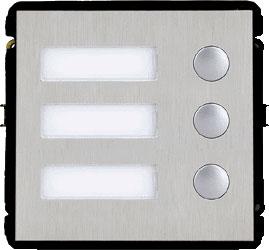 Papildomas 3-mygtukų modulis VTO2000A-B