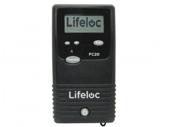 Alkotesteris Lifeloc FC20