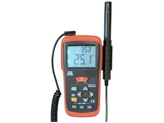 Drėgmės, temperatūros ir infraraudonųjų spindulių termometras MWF-DT-616CT