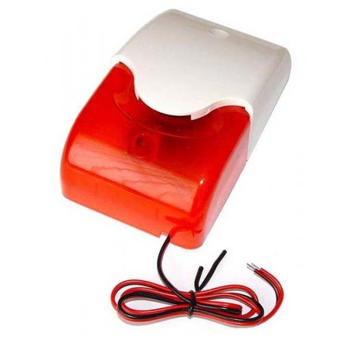 LD-96 vidinė sirena su raudona blykste
