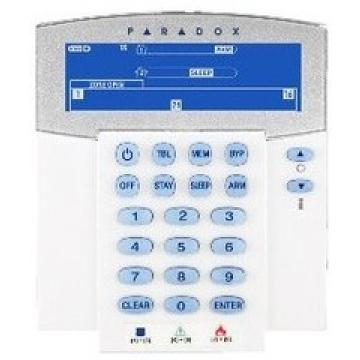 Klaviatūra centralei PARADOX K37LCD