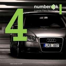 Number OK (4 kanalai)
