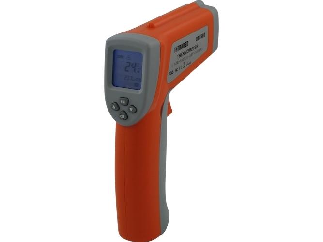 Infraraudonųjų spindulių termometras DT8580 DUAL
