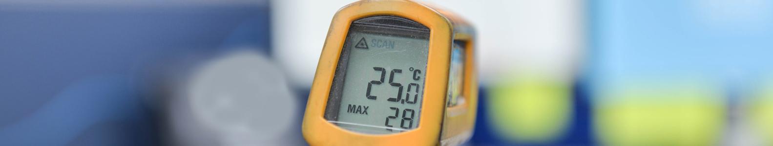 Temperatūros matavimo prietaisai  Temperatūros matavimo prietaisai, skirti matuoti žmogaus kūno, oro, maisto, skysčių temperatūrą