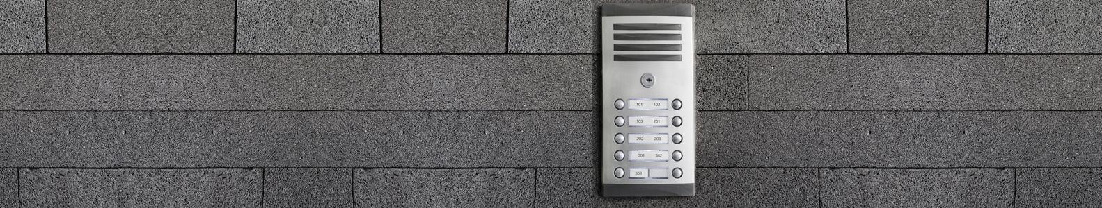 Domofonai  Profesionalūs sprendimai  ieškantiems įėjimo kontrolės sistemų