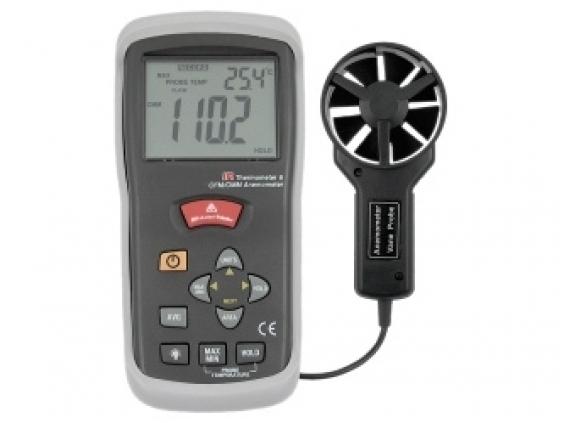 Infraraudonųjų spindulių termometras – anemometras DTTA-620