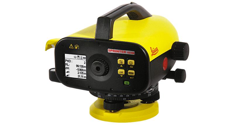 Skaitmeninis nivelyras Leica Sprinter 150M