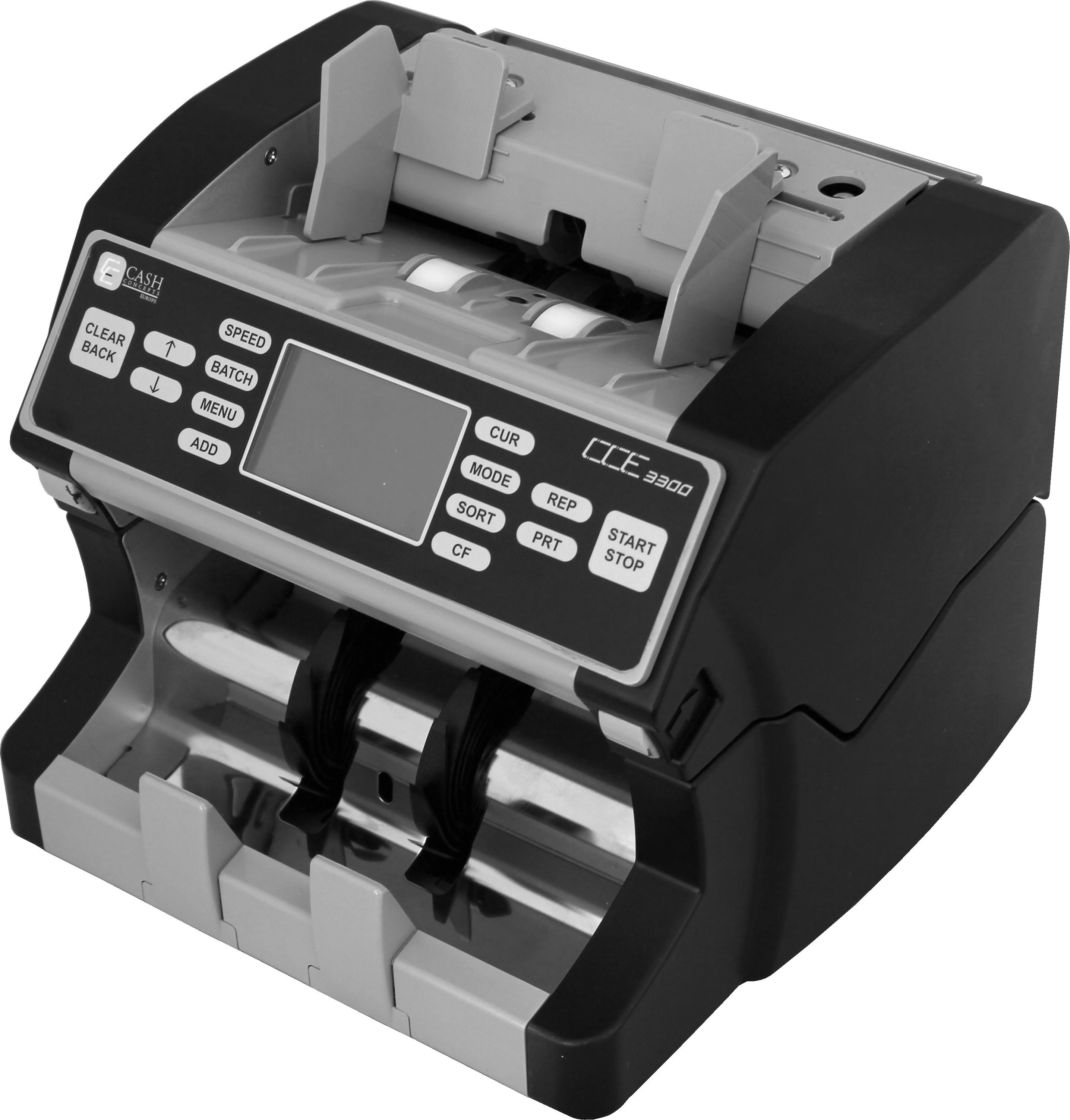Mišrių banknotų skaičiavimo aparatas CCE 3300