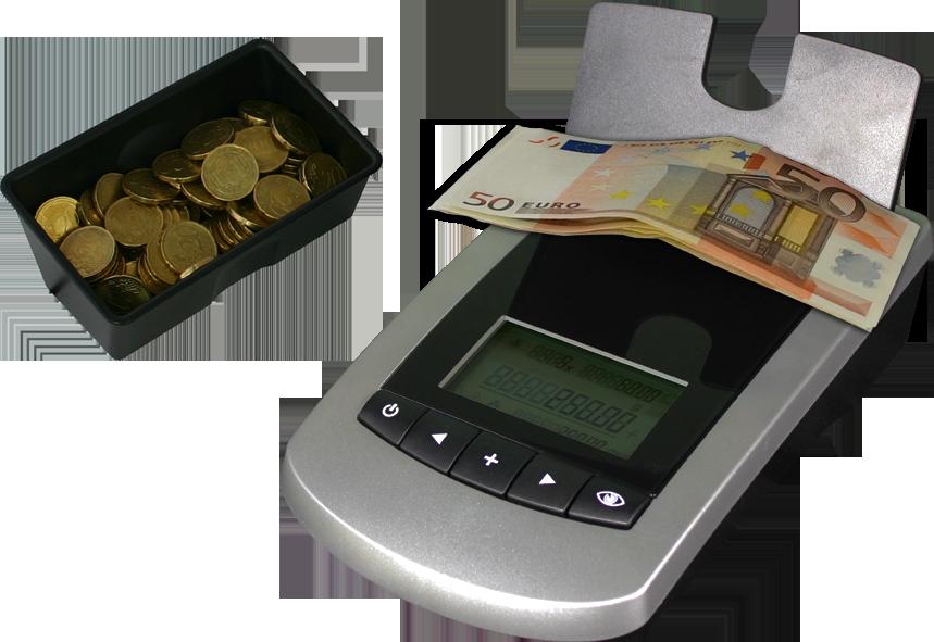 Monetų ir banknotų skaičiavimo aparatas CCE 480