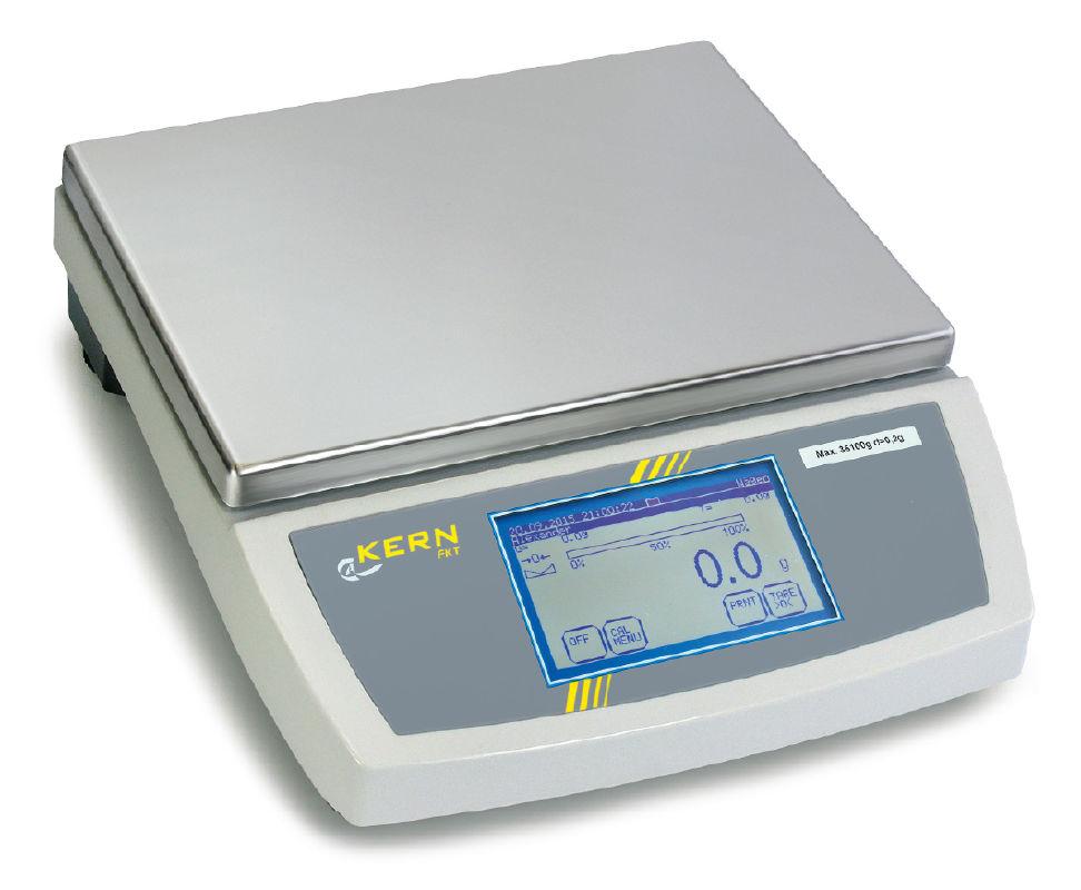 Elektroninės svarstyklės KERN FKT 16K0.05L