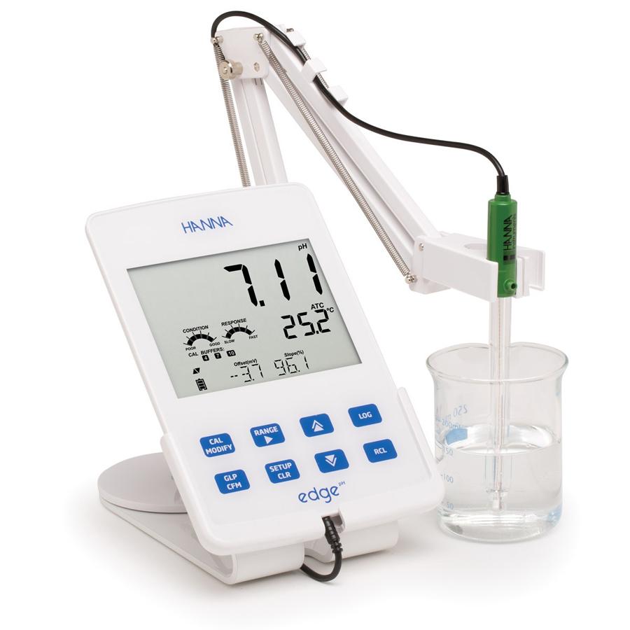 Skaitmeninis pH / ORP matuoklis HI2002-01