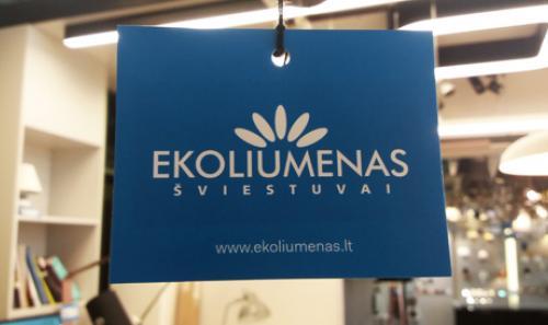 Sumontavome vaizdo stebėjimo sistemas Ekoliumenas parduotuvėse