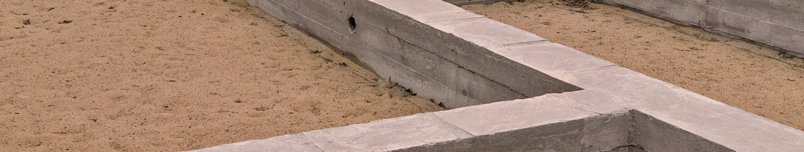 Pamatų įrengimas,  betonavimo darbai