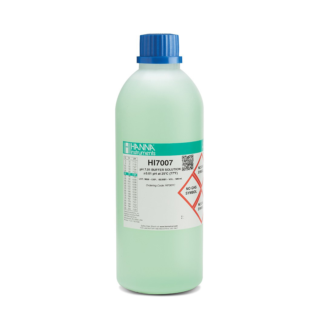 pH 7.01 kalibravimo tirpalas (500 mL) HI7007C
