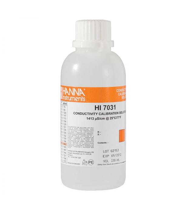1,413 μS/cm laidumo tirpalas (500 ml) HI-7031L/C