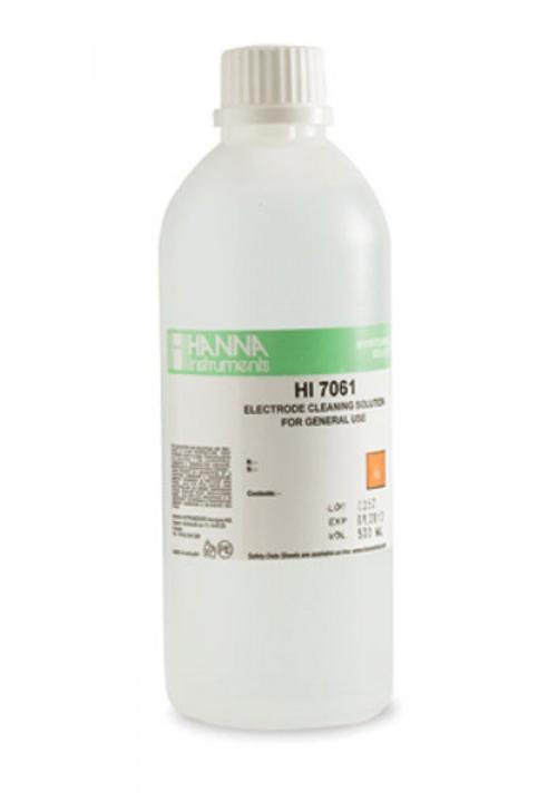 Elektrodų valymo tirpalas (500 ml) HI-7061L