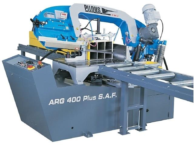 Juostinės šalto pjovimo staklės Pilous ARG 400 Plus S.A.F.