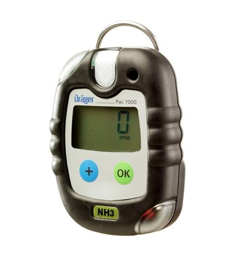 Amoniako dujų analizatorius Drager Pac® 7000