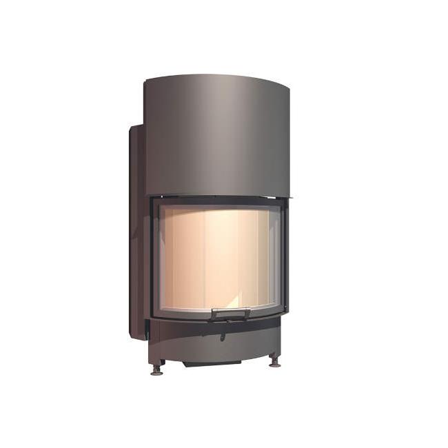 Plieninis židinio ugniakuras SCHMID RONDA TV 5545 H