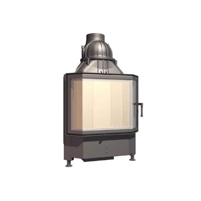 Plieninis židinio ugniakuras SCHMID PANO TV 5557 S
