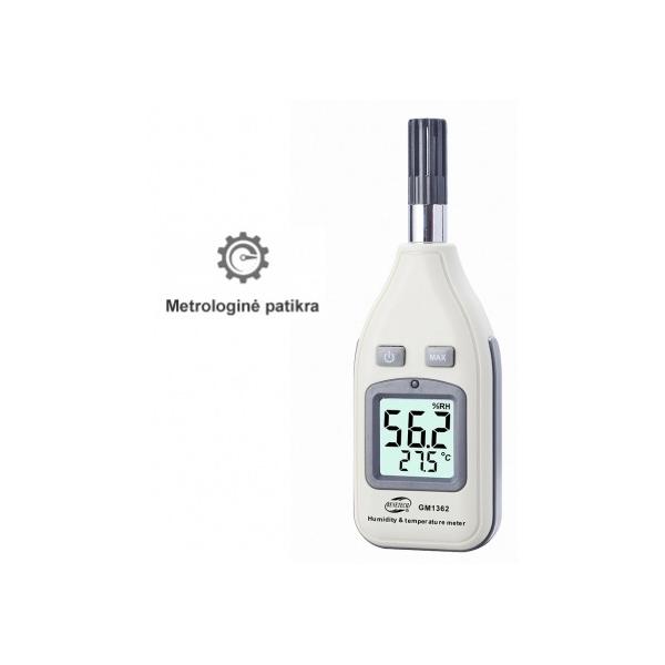 Drėgmės ir temperatūros matuoklio FRA1362 su metrologine patikra nuoma